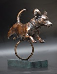 "Rocket Man by tucker bailey Bronze ~ 19"" x 25"""