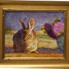 """A Desert Friend"" - Custom gold frame"