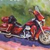 Jay's Red Bike