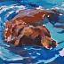 """Paddle"" by Sarah J. Webber Fine Art"