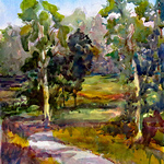 Deena Ball - Watercolor Landscape- From the Ground Up