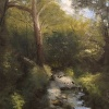 "Bucks County Creek - 8"" x 10"" oil on canvas"