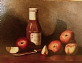 Apple Hill Bounty by Christine Marx Oil ~ 12 inches x 16 inches