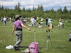 Painting in the Adirondacks with 87 other plein air painters