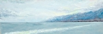 """Leaving Sicily"" by Vince Ornato Jr. Oil ~ 12 x 36"