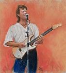"""Glenn Pavone"" by Vince Ornato Jr. Pastel ~ 20 x 18"