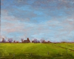 """Field in Italy"" by Vince Ornato Jr. Oil ~ 8 x 10"