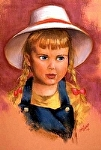 """Little Susie"" by Vince Ornato Jr. Pastel ~ 20 x 16"