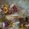 Pansies and Porcelain