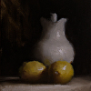 Jug with Lemons (at auction)