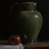 Jug with Apple
