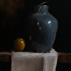 Vase with Persimmon