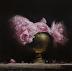 Peonies in Brass Pot by Neil Carroll