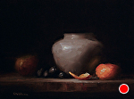 Arrangement with Peel by Neil Carroll Oil ~ 6 x 8