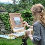 Deborah Bacon - Artist Weekend at the Fells
