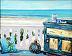Soft Sea Breeze by Gigi Genovese Acrylic ~ 8 x 10