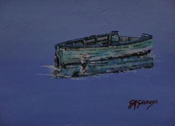 Silent Drift by Gigi Genovese Acrylic ~ 8 x 10
