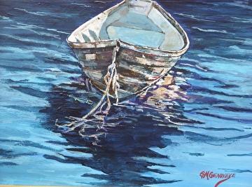 Dorry Reflections by Gigi Genovese Acrylic ~ 8 x 10