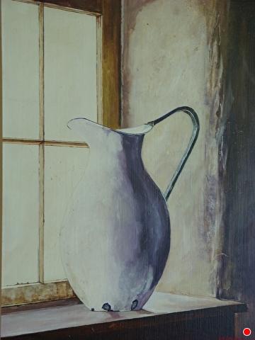 Porcelain Pitcher by Gigi Genovese Acrylic ~ 24 x 18