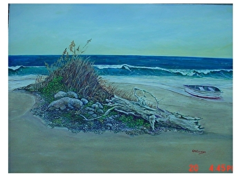 Waves by Gigi Genovese Acrylic ~ 18 x 24