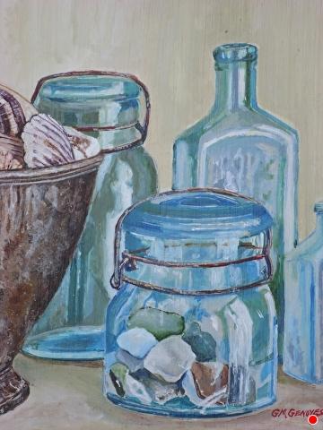 Seaglass by Gigi Genovese Acrylic ~ 8 x 10