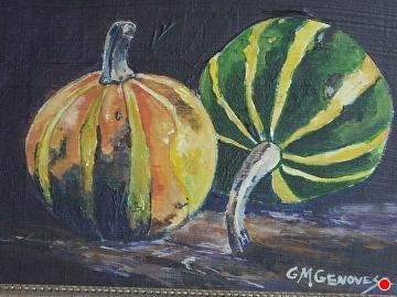 Gourds by Gigi Genovese Acrylic ~ 5 x 7