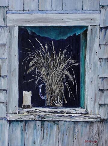 shed Window by Gigi Genovese Acrylic ~ 18 x 24