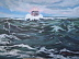 Ledge Light seas by Gigi Genovese Acrylic ~ 16 x 20