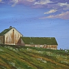 Spring at Hilltop Farm by Gigi Genovese Acrylic ~ 16 x 20