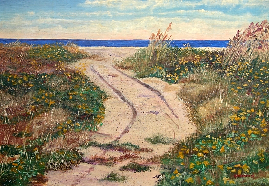 Off the beaten path by Gigi Genovese Acrylic ~ 16 x 20