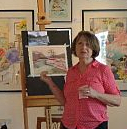 pam hatch - ONGOING CLASSES in Acrylic or Pastel