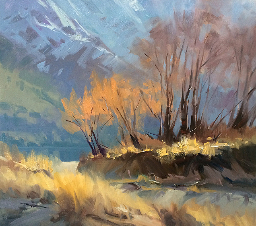 How To Light An Oil Painting