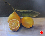 Again With Lemons by Coko Brown Oil ~ 8 x 10
