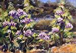 lilacs by Coko Brown Oil ~ 6 x 8