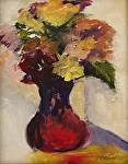 Alla Prima Floral 2 by Coko Brown Oil ~ 10 x 8