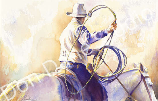 The Loop    -   SOLD - Watercolor
