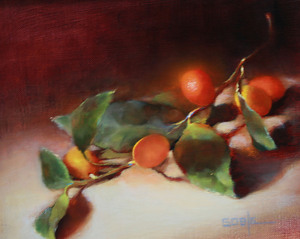 Kumquats by Ann Goble Oil ~ 8 x 10