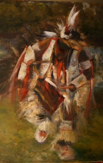 Grass Dancer - Oil