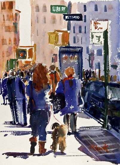 East81stStreet - Watercolor
