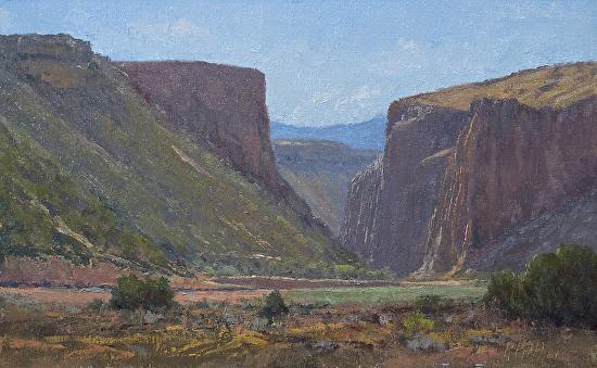 Caja del Rio Canyon - Oil