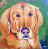 lucky by Amity Perry Acrylic ~ 10 x 10