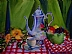 Tea Time by Amity Perry Oil ~ 16 x 20