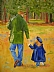 Precious Moment by Amity Perry Oil ~ 20 x 16
