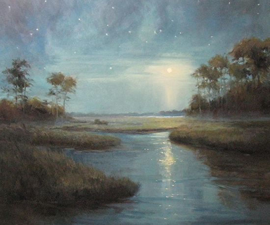 Midsummer Night - Oil