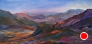 """Big Bend by Ruth Meaders Oil ~ 12"""" x 24"""""""