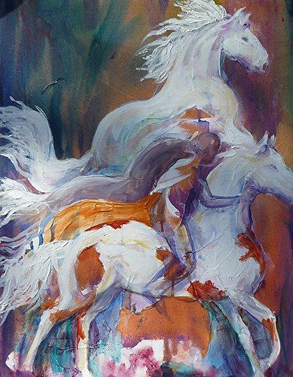 Horseplay - Acrylic