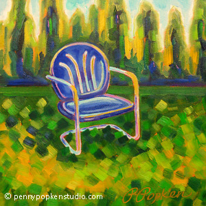 Made in the Shade (#124) by Penny Popken Oil ~ 12 x 12