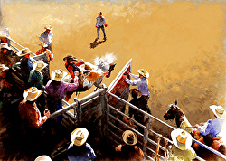 Don Weller - Cheyenne Frontier Days Wester Art Show and Sale