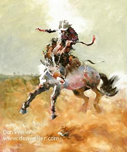 Don Weller - Cheyenne Frontier Days Western Art Show