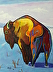 Twenty Below - Bison by joe triano